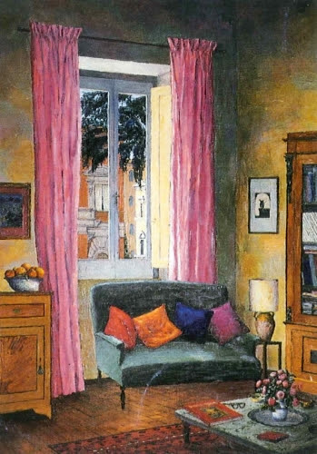 Justin O'Brian's interior by Janet Venn-Brown