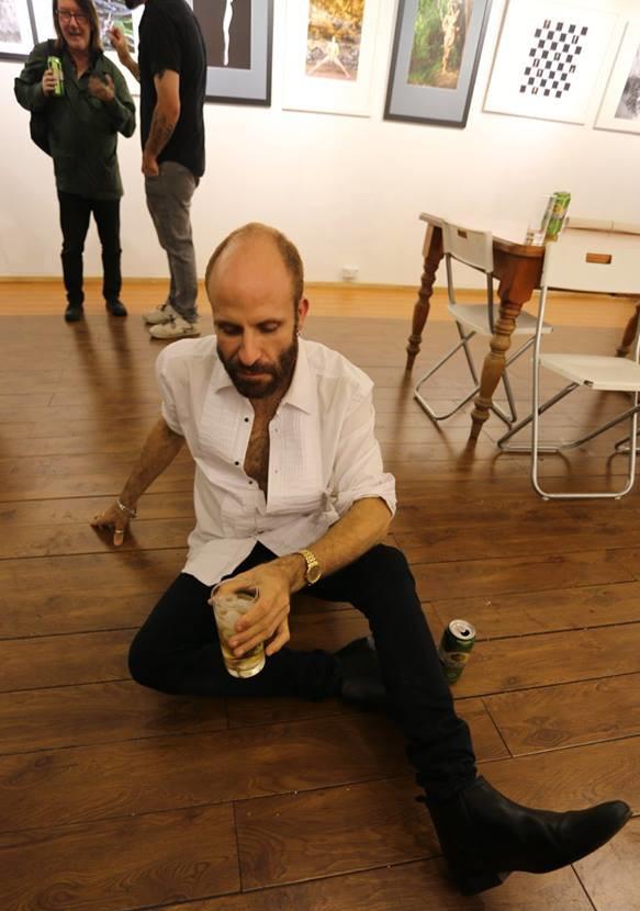 "Paul Wallace's 45th Birthday Exhibition ""Retrospective"", May 2018."
